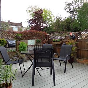 Composite Decking Garden